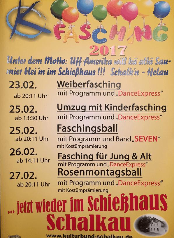 Kulturbundfasching 2017